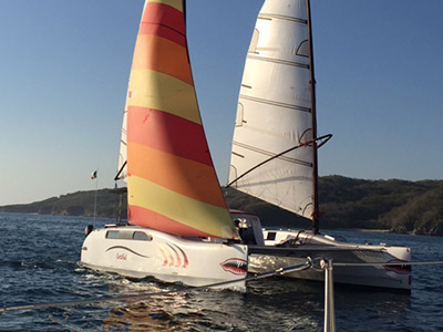 Preowned Sail Catamarans for Sale 2004 Cat2Fold